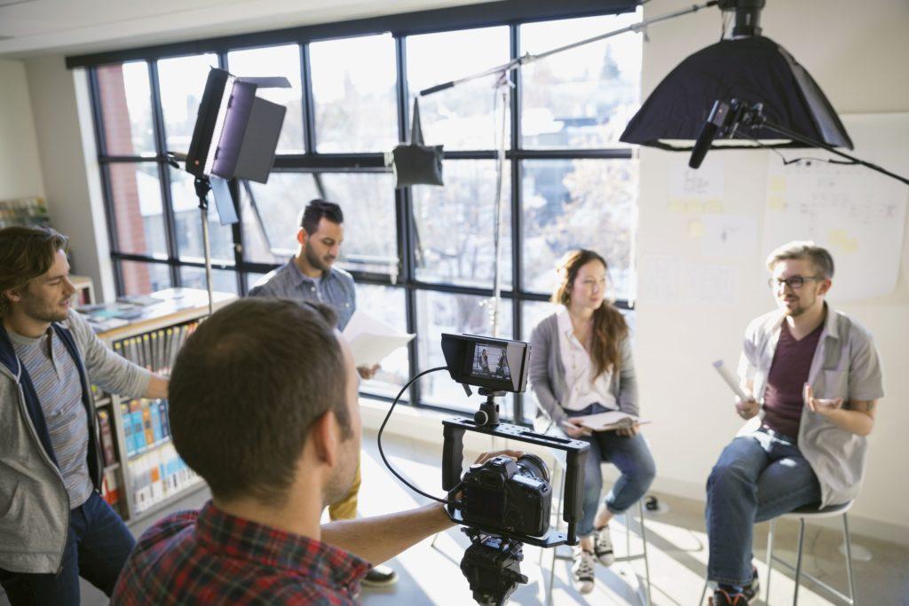 Professionel videoproduktion